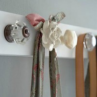 Maybe one day I&#x27;ll have a Home / Doorknob rack. I love this idea so much