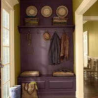 Home Heaven / So gorgeous. That purple is just...sophisticated.
