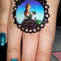 Ariel The Little Mermaid Ring from CherryKreations21