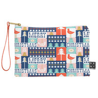 Heather Dutton Christmas Collage Chill Pouch