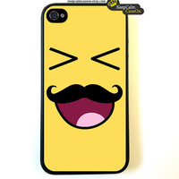 Smiley iPhone 4 Case / New Hard Fitted Case For iphone 4 & iphone 4S / iPhone Case