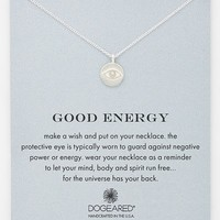 Women's Dogeared 'Reminder - Good Energy' Boxed Pendant Necklace