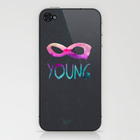 Forever Young II iPhone & iPod Skin by Jacqueline Maldonado | Society6