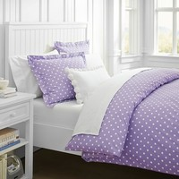 Dottie Duvet Cover + Sham, Purple