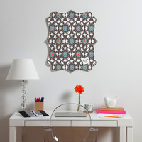 Heather Dutton Amirah Dusk Quatrefoil Magnet Board