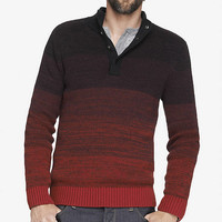 MARLED OMBRE MOCK NECK SWEATER from EXPRESS