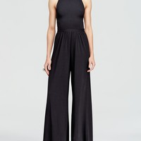 Alice + Olivia Jumpsuit - Cross Back Wide Leg