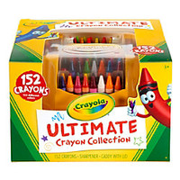 Crayola Ultimate Crayon Case Assorted Colors Pack Of 152 by Office Depot