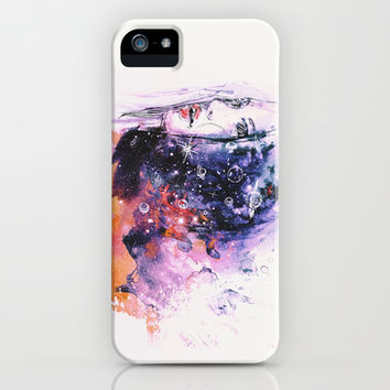 Spaced out  iPhone & iPod Case by Sara Eshak