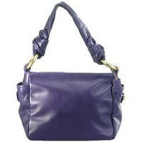Coach Resort Leather Shoulder Handbag