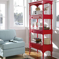 Coastal Living Etagere in Choice of Color - China Cabinets & Buffets - Dining Room, Kitchen & Bar - Furniture - PoshLiving