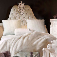 Haute House Montserrat Upholstered Bed - Beds - Bedroom &amp; Bath - Furniture - PoshLiving