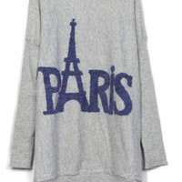Bats Paris Tower Printed Sweaters $40.00