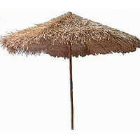 Handcrafted Thatched 9-foot Umbrella (Vietnam) | Overstock.com