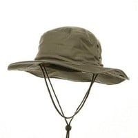 Fishing Hat (01)-Khaki W11S35E