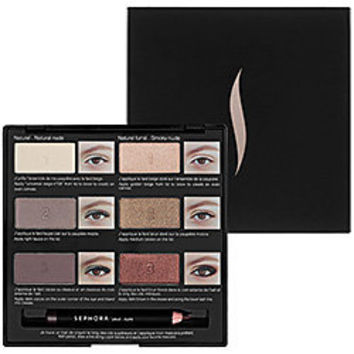 Sephora: Pro Lesson Palette: Natural Eye   : eye-sets-palettes-eyes-makeup