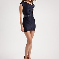 Doo.Ri - Asymmetrical Ruched Jersey Mini Dress - Saks.com
