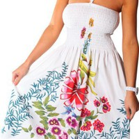 One-size-fits-most Tube Dress/Coverup - Zinnia Ivy (many colors)
