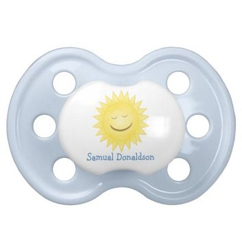Personalized: Sunshine Pacifier