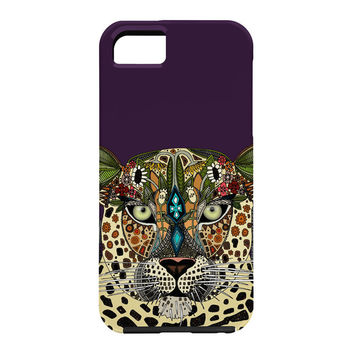 Sharon Turner Leopard Queen Cell Phone Case