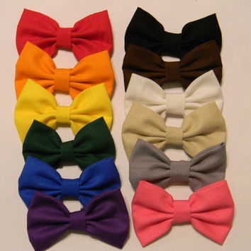 Classic Hair Bow 6pc Sets
