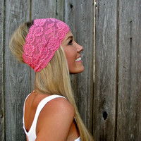 Wide Stretch Lace Headband In Bubbl.. on Luulla