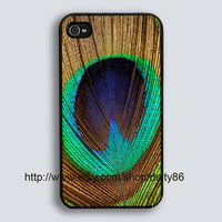 Iphone 4 Case New Hard Fitted Case For iphone 4 &amp; iphone 4S,  Peacock Feather iphone 4 Case