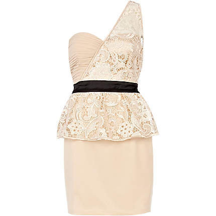 cream little mistress bodycon dress