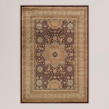 Brown Medallion Rug - World Market