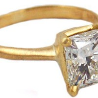 Custom 2.0ct Princess Cut Avens Ring - Custom Work - Categories