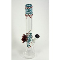 Beaker Based Bong -  The Lotus  - Grasscity.com