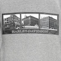 Milwaukee Harley-Davidson 1912 Factory Construction T-Shirt Tee Men's Size Medium (M)