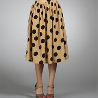 Sale-Polka Dot Skirt