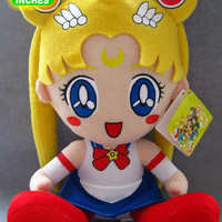 "Sailor Moon 12"" Sitting UFO Plush Doll Sailormoon"