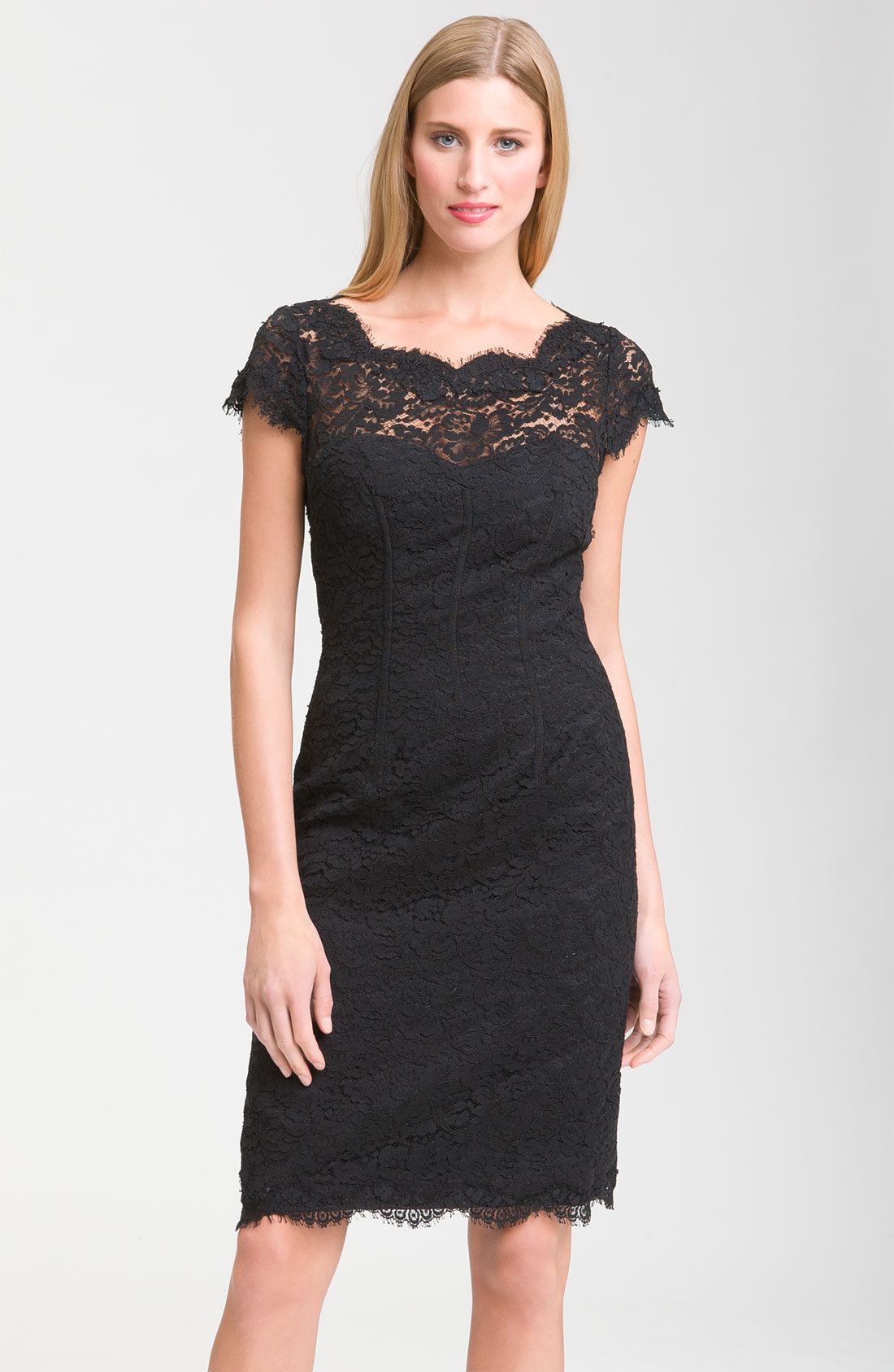 monique lhuillier bridesmaids lace from basadresscom dress With lace dresses for wedding guests