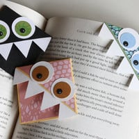 page corner bookmarks | I Could Make That