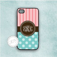 Candy Blue And Coral Iphone 4 Case .. on Luulla