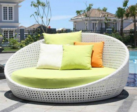 Cool Round Outdoor Lounger - Opulentitems.com