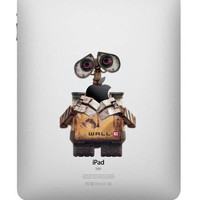 WALL E -- iPad Decal iPad Sticker Art Cover Skin for Apple iPad1 iPad2 iPad3/The new iPad Macbook Pro Macbook Air