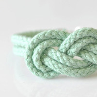 Double 8 Knot Bracelet - Mint