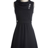 Coach Tour Dress in Noir | Mod Retro Vintage Dresses | ModCloth.com