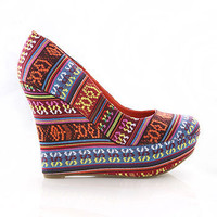 Native Dreamer Wedges | Wedges at Pink Ice