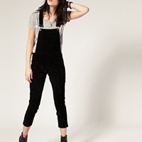 Cheap Monday | Cheap Monday Suede Dungaree at ASOS