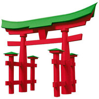 Torii Gate Paper Model (KIT)
