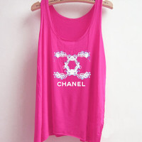 Lacey Chanel-the pink tank