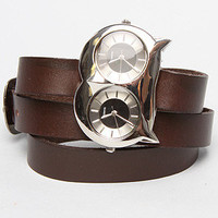 The Owl Double Eye Watch