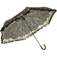 Cream Lace Edge Umbrella - Miss Selfridge - Polyvore