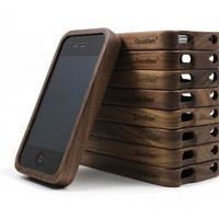 Vintage Walnut Wood IPhone4/4s Case on Luulla