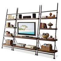 """Riverside Furniture Camden Town Leaning 54"""" TV Stand"""