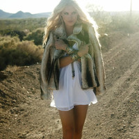 Show Me Your Mumu Fisher Faux Fur Jacket